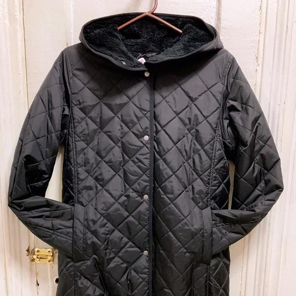 4219e7b96a Uniqlo Jackets & Coats | Women Pile Lined Fleece Long Sleeve Coat ...